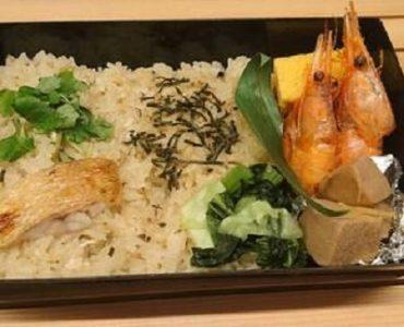 のどぐろ土鍋ごはん弁当1200円(税込)