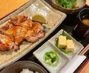 【鶏の照り焼き定食】<br /> 1,000円(税込)