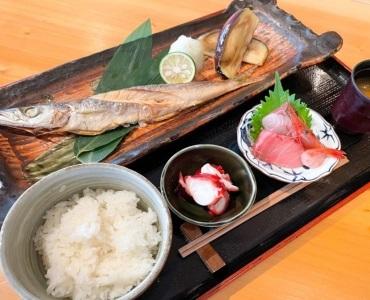 【焼き魚と刺身定食】<br /> 1,500円(税込)