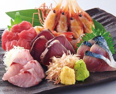 5 fresh fish sashimi